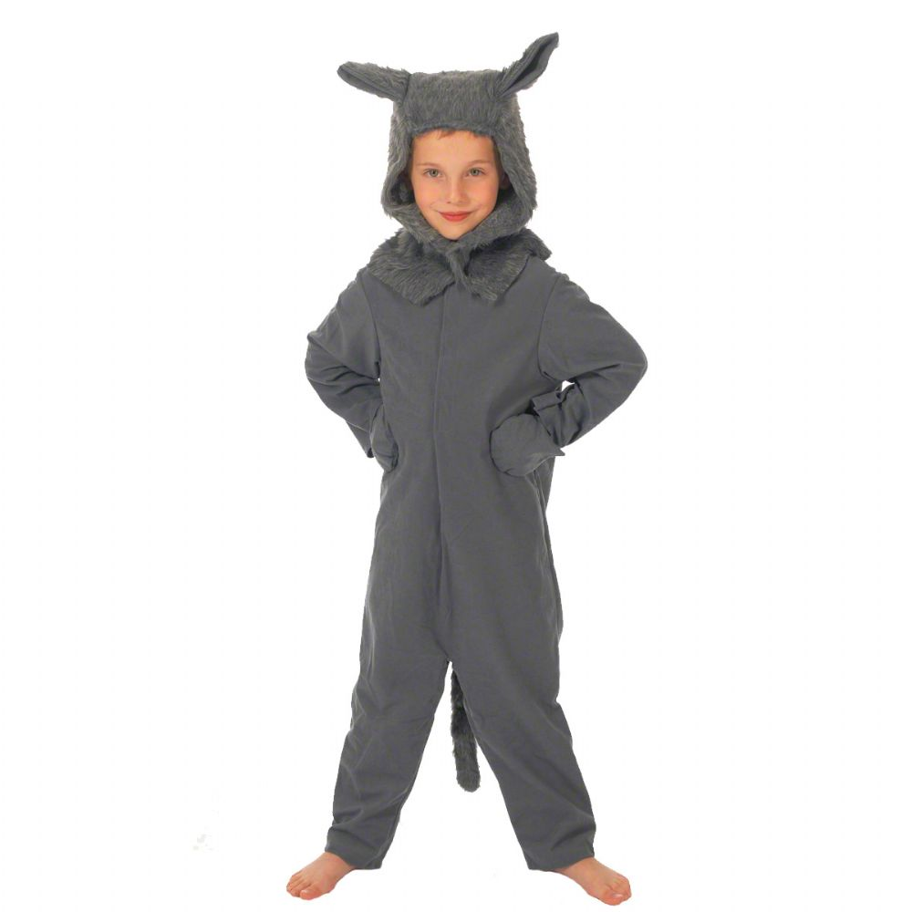 Children S Boys And Girls Big Bad Wolf Fancy Dress Up Costume